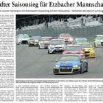 Fünfter Saisonsieg für Etzbacher Mannschaft