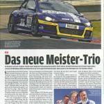 Das neue Meister-Trio
