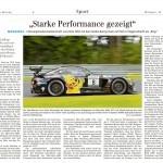 23.08.2017 VLN 5 Siegener Zeitung
