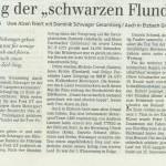 """Sieg der """"schwarzen Flunder"""""""